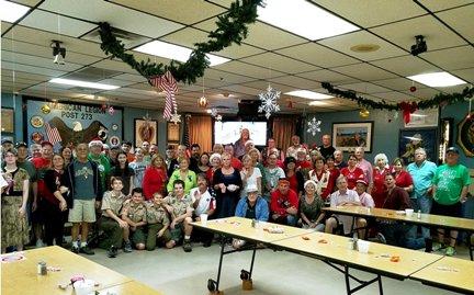 Veterans Christmas Dinner 2017