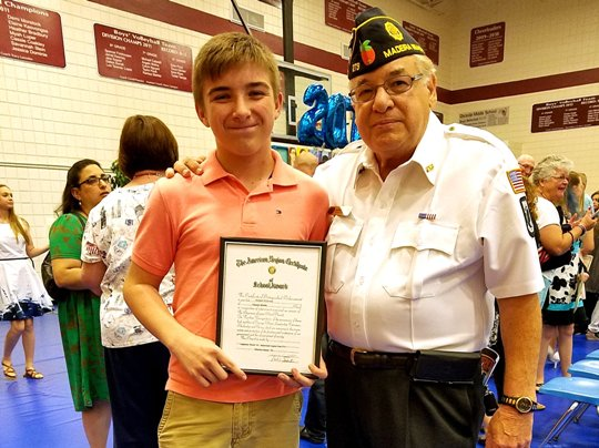 "2017 ""American Legion Americanism"" Awards"